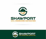 Shawport Civil Engineering Contractors Logo - Entry #40