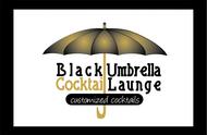 Black umbrella coffee & cocktail lounge Logo - Entry #182