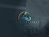 coast to coast canvas Logo - Entry #108