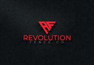 Revolution Fence Co. Logo - Entry #153