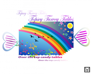 Topsey turvey tables Logo - Entry #102