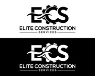 Elite Construction Services or ECS Logo - Entry #210