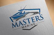 Masters Marine Logo - Entry #480