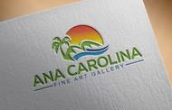 Ana Carolina Fine Art Gallery Logo - Entry #228