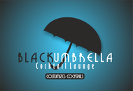 Black umbrella coffee & cocktail lounge Logo - Entry #181