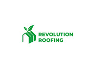 Revolution Roofing Logo - Entry #558