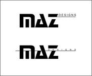 Maz Designs Logo - Entry #416