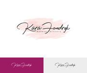 Kara Fendryk Makeup Artistry Logo - Entry #141
