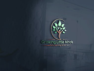 Growing Little Minds Early Learning Center or Growing Little Minds Logo - Entry #111