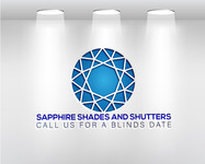 Sapphire Shades and Shutters Logo - Entry #87
