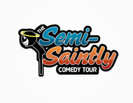 The Semi-Saintly Comedy Tour Logo - Entry #36