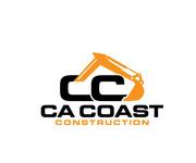 CA Coast Construction Logo - Entry #107