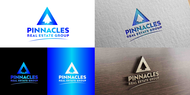 Pinnacles Real Estate Group  Logo - Entry #5