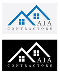 AIA CONTRACTORS Logo - Entry #122