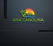 Ana Carolina Fine Art Gallery Logo - Entry #224