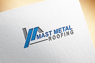Mast Metal Roofing Logo - Entry #24