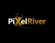 Pixel River Logo - Online Marketing Agency - Entry #67