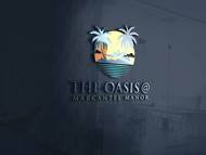 The Oasis @ Marcantel Manor Logo - Entry #11