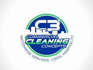 Commercial Cleaning Concepts Logo - Entry #20