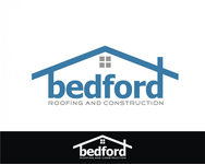 Bedford Roofing and Construction Logo - Entry #14