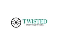 Twisted Turquoise Boutique Logo - Entry #140