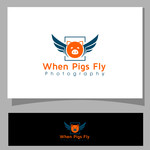 When Pigs Fly Photography Logo - Entry #46