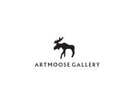 ArtMoose Gallery Logo - Entry #12