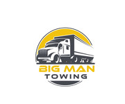 Big Man Towing Logo - Entry #140