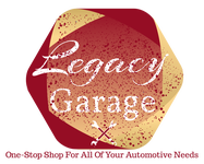 LEGACY GARAGE Logo - Entry #138