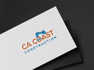 CA Coast Construction Logo - Entry #122