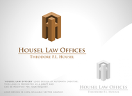 Housel Law Offices  : Theodore F.L. Housel Logo - Entry #9