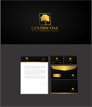 Golden Oak Wealth Management Logo - Entry #171