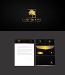 Golden Oak Wealth Management Logo - Entry #171