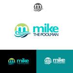Mike the Poolman  Logo - Entry #66