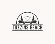 Tuzzins Beach Logo - Entry #300