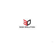 3D Sign Solutions Logo - Entry #91