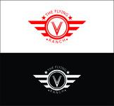 The Flying V Ranch Logo - Entry #107