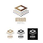 Atrium Hotel Logo - Entry #22