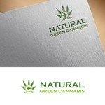 Natural Green Cannabis Logo - Entry #132