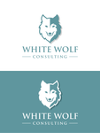 White Wolf Consulting (optional LLC) Logo - Entry #234