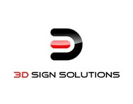 3D Sign Solutions Logo - Entry #149