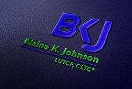 Blaine K. Johnson Logo - Entry #61