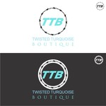 Twisted Turquoise Boutique Logo - Entry #41