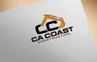 CA Coast Construction Logo - Entry #108