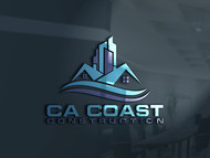 CA Coast Construction Logo - Entry #238