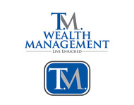 T.M. Wealth Management Logo - Entry #133