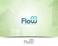 Flow Real Estate Logo - Entry #107