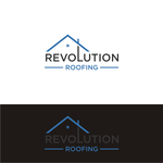Revolution Roofing Logo - Entry #5