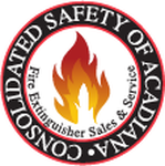 Consolidated Safety of Acadiana / Fire Extinguisher Sales & Service Logo - Entry #96