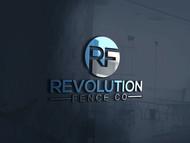 Revolution Fence Co. Logo - Entry #348